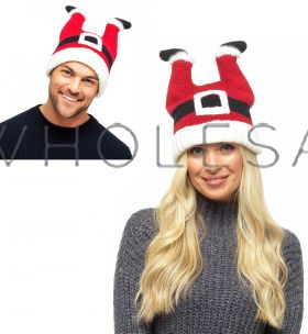 GL574 Knitted Christmas Santa Hats