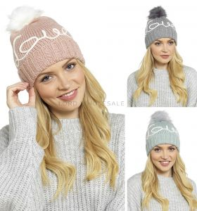 GL584 Knitted Love Embellished Hats by Foxbury