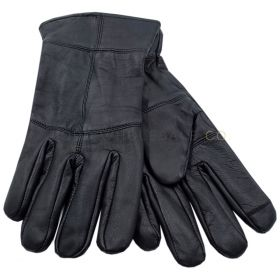 Mens Thinsulate Leather Touchscreen Gloves 12 Pieces