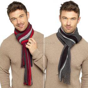 GL629 Men's Striped Scarves