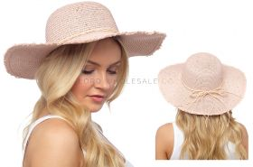 GL730 Pink Sequin Crushable Hats