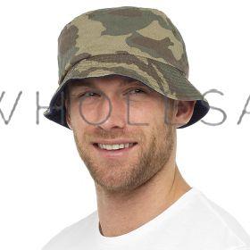 GL783 Adults Camouflage Bucket Hats