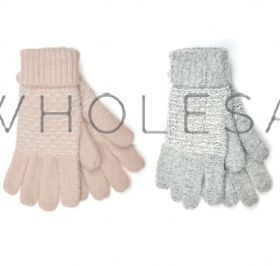 Ladies Soft Knitted Gloves With Cuff By Foxbury 12 Pieces