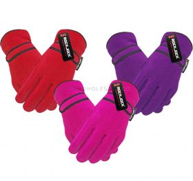 GLA173 Girls Thermal Lined Fleece Gloves
