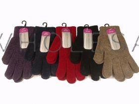 Ladies Chenille Gloves