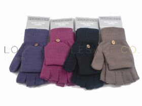 Fingerless Mittens Gloves Combo by Handy