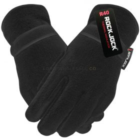 GLT202R Men's Thermal Lined Fleece Gloves