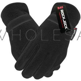 GLT202R Men's Thermal Lined Fleece Gloves