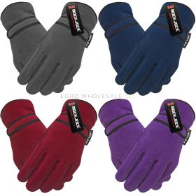 GLT204R Ladies Thermal Lined Fleece Gloves
