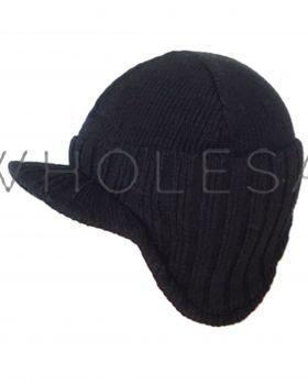 HAI-649 Men's Fleece Lined Hats With Peak