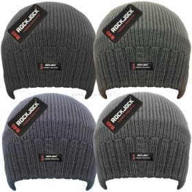 HAI-704R Plain Knitted Beanie Hats