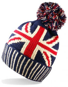 HAI-795 Union Jack Knitted Hats