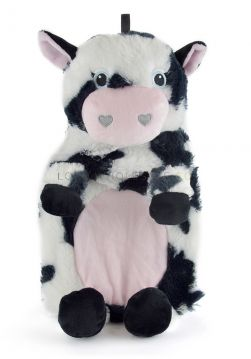 SK0320 Supersof Plush Cow Hot Water Bottle
