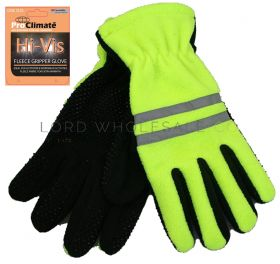 MA000004 Hi Vis Neon Thinsulate Fleece Gloves