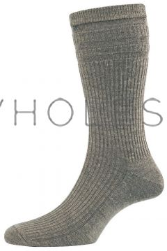 Mens Non Elastic Softop Wool Socks by HJ Hall HJ90
