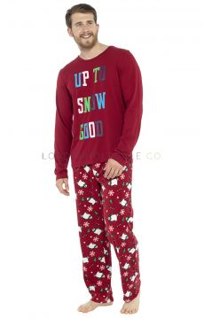 HT093 Men's Up To Snow Good Pyjamas