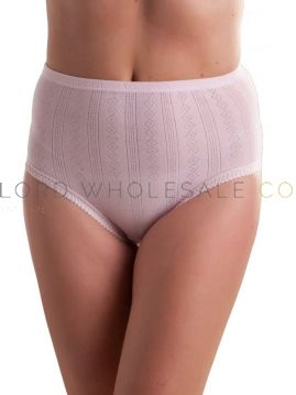 Ladies 3 pair pack Tunnel Elastic Brief