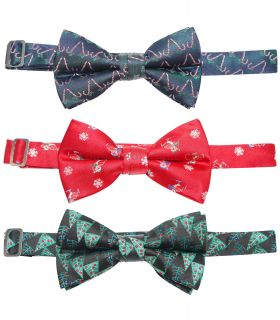 MA000429 Festive Christmas Bow Ties