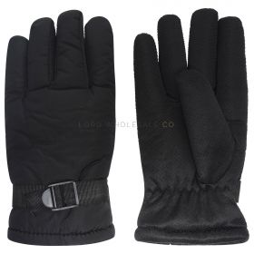 MA000445 Waterproof Fur Lined Padded Gloves