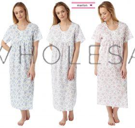 MN145 Marlon Long Length Nightdress