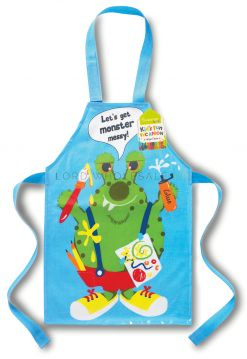 AP8437 Wipe Clean Monster Apron by Cooksmart