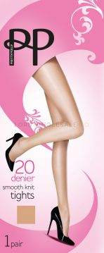 Pretty Polly 20 Denier Smooth Knit Tights