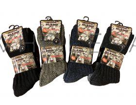 SE026 Light Hold Non Elastic Wool Boot Socks
