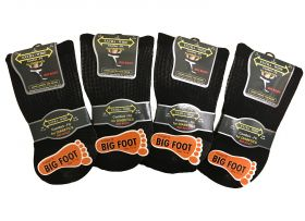 SE087 Big Foot Diabetic Socks