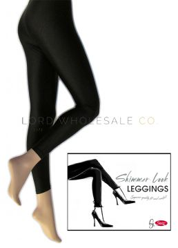 Shimmer Look Leggings by Silky