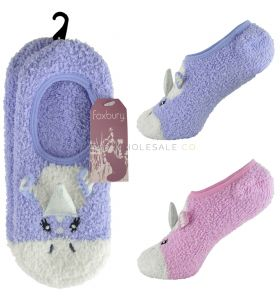 SK496 3D Unicorn Baleerina Slippers