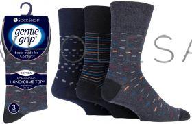 SOMRJ565H3 Men's Urban Lair Gentle Grip Socks