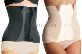 Ladies Waist Clincher Belly Band Firm Control Satin Panel by Beauforme