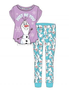 Z01-33402 Ladies Disney Olaf Pyjamas 8 Pieces