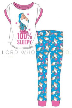 Ladies Snow White Pyjamas 8 pieces